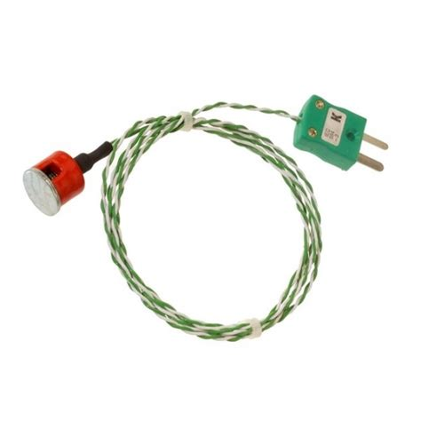 Sale Thermocouples Type K button magnet thermocouple with miniature type k
