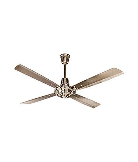 Ceiling Fan Crompton by Crompton Greaves Taurus 1200 Mm Ceiling Fan Brass Price In