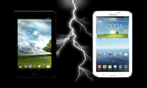 Tablet Samsung Vs Asus asus fonepad vs samsung galaxy tab 3 7 inch jelly bean 3g voice calling fight stirs up gizbot