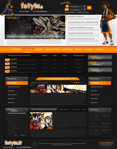 download layout bb freestyle basketball design by hamas1 on deviantart