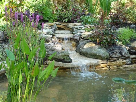 backyard pond ideas with waterfall marceladick com