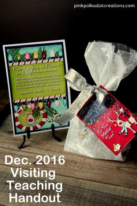 december visiting teaching handout dove dec 2016 visiting teaching handout pink polka dot creations