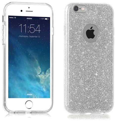 Fuze Glitter For Iphone 6 glitter hoesje zilver iphone 6 6s exclusievehoesjes eu