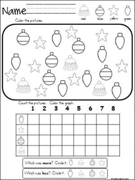printable christmas graphs free christmas winter graphing activity great for pre k