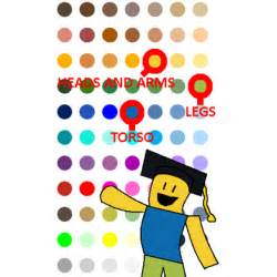 roblox noob colors correct noob colors updated version roblox