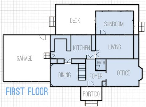drawing up floor plans dreaming about changes