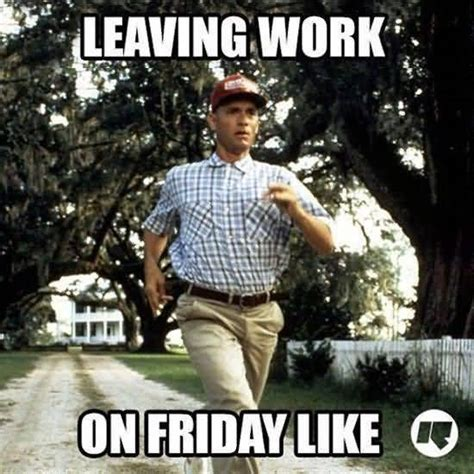 Leaving Work Meme - leaving work in friday like meme photo golfian com