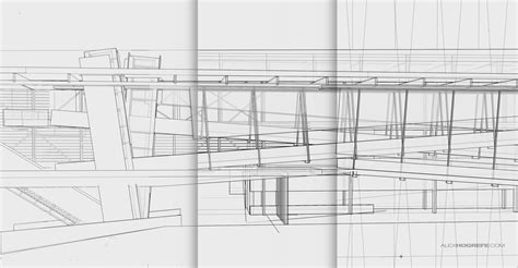 c section line cranbrook project building section visualizing architecture