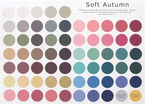 17 best images about palettes on soft autumn soft summer and vintage colors
