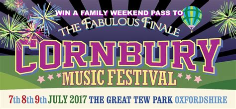 Music Giveaways - cornbury music festival ticket giveaway one family weekend pass up for grabs worth