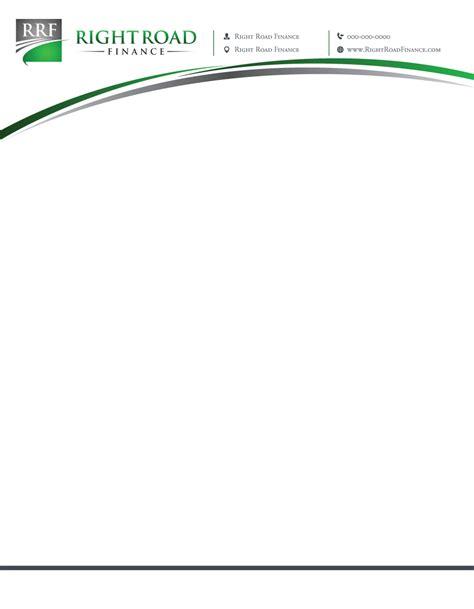 Au Finance Letterhead letterhead design for stefanie cutrera by shakar design