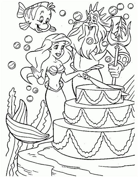 little mermaid birthday coloring pages desenhos de palha 231 os 157 az dibujos para colorear
