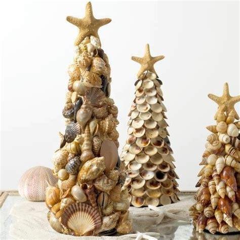 shell christmas tree navidad pinterest