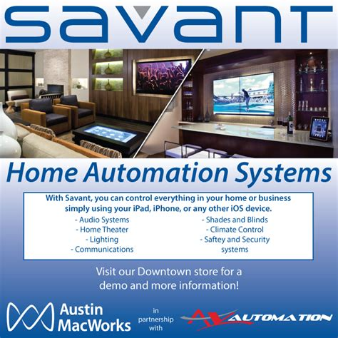 savant home automation systems macworks