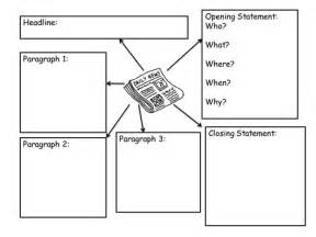 newspaper planning template by amygaunt uk teaching