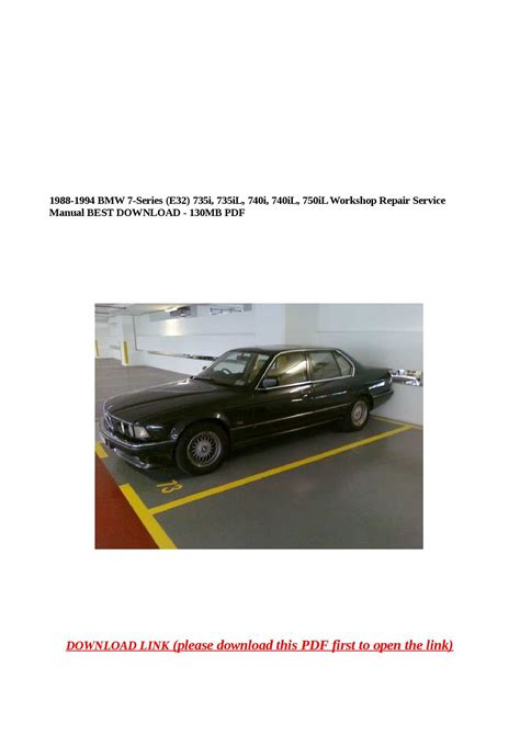 download car manuals 1997 bmw 7 series regenerative braking bmw 740il repair manual datainternet