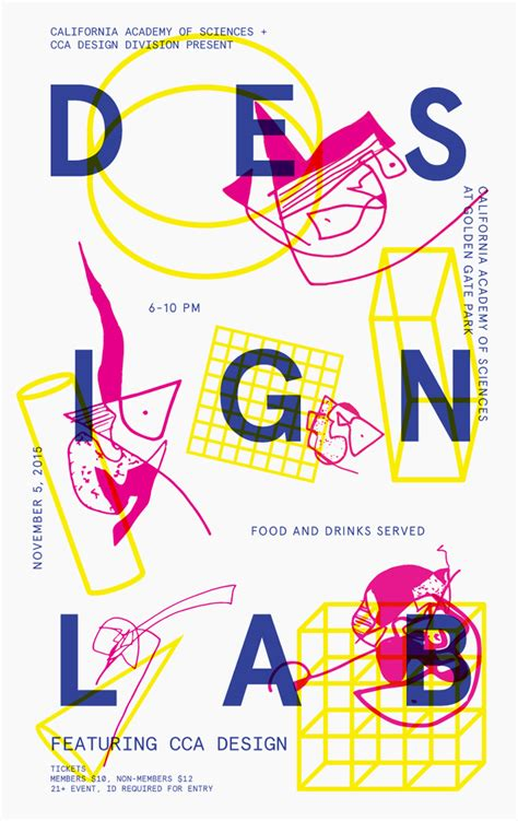 design design design lab nightlife poster cca mfa design