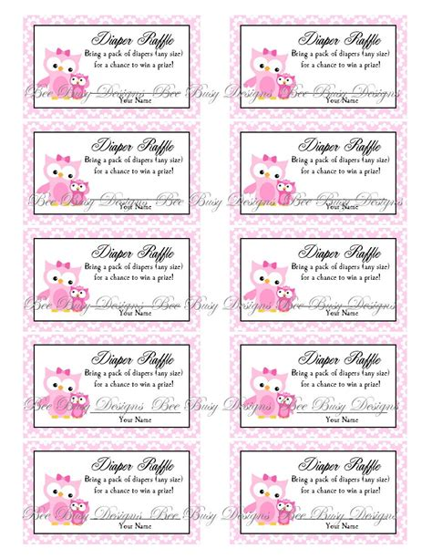 free printable baby shower raffle tickets template 9 best images of raffle free printables free