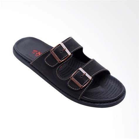 Sepatu Sandal Neckerman jual neckermann sandal pria black 051 harga kualitas terjamin blibli