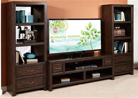 md011 solidwood bookcase function tv stand media