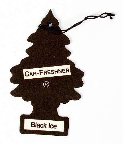 trees car freshener black 3 pack