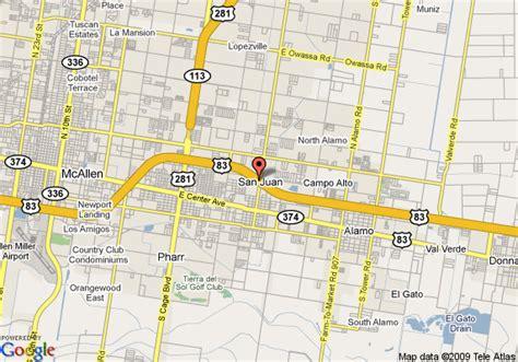 san juan texas map map of days inn san juan san juan