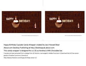 blank hershey bar wrapper template