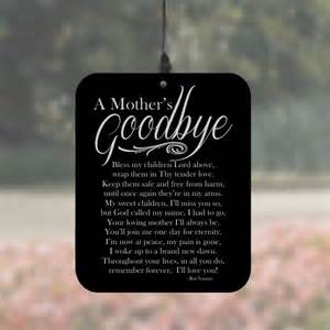 Personalized Barware Gifts A Mother S Goodbye Angel Wind Chimes