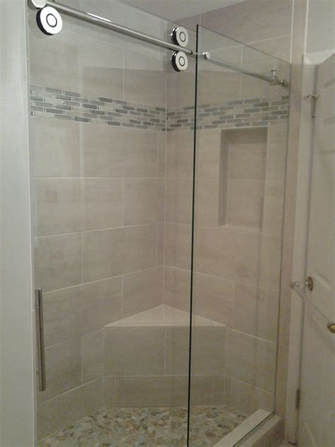 Bel Shower Door Beautiful Frameless Shower Door Bel Air Construction Maryland Baltimore Remodeling