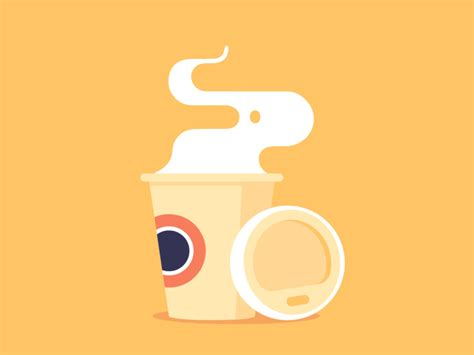 Mug Animasi Citibank Spot Animations Coffee Animation Coffee And Gifs