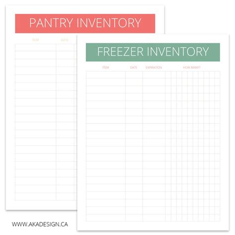 Pantry Planner by Meal Planning And How I Try To Keep Our Kitchen Organized