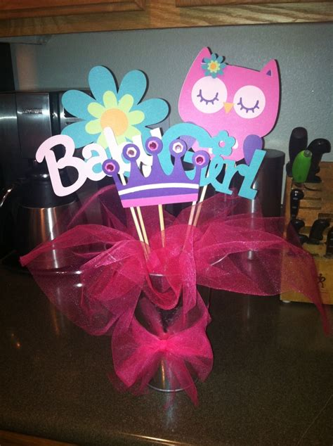 Owl Baby Shower Centerpiece Party Ideas Pinterest Owl Centerpieces For Baby Shower