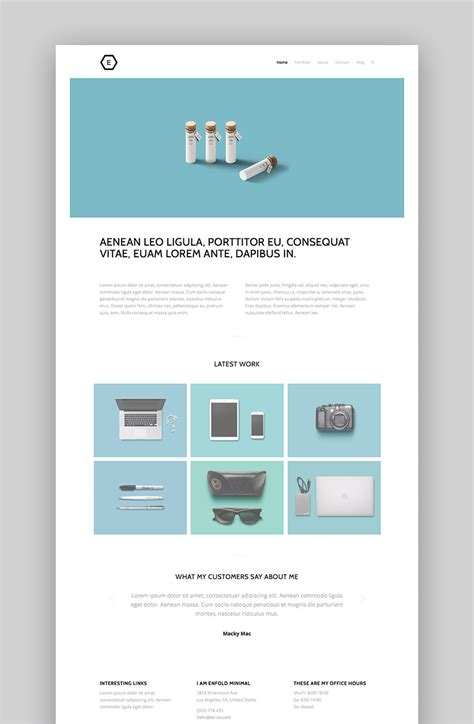 20 best minimal wordpress themes with simple elegant
