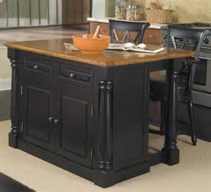 kitchen island sets buy pennfield kitchen island counter stool in black finish