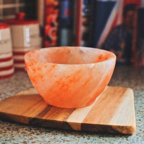 himalayan salt l bowl himalayan salt bowl by salthouse peppermongers