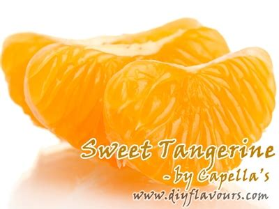Capella 1 Oz Sweet Tangerine Flavor Essence For Diy Liquid sweet tangerine flavor concentrate by capella s