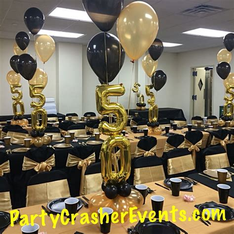 50th birthday table decorations best 25 60th birthday centerpieces ideas on