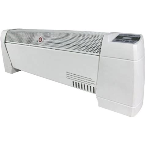 electric baseboard heater with built in thermostat 30 quot electric portable baseboard convection space heater