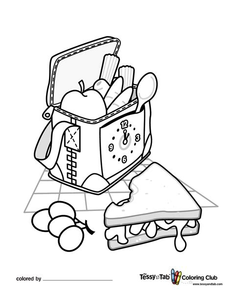 Picnic Coloring Pages To Download And Print For Free Picnic Coloring Page