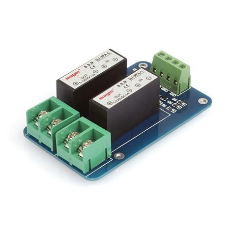 Lc Relay 1 Channel 5v Volt Dc Output 25 Kode Fd10316 1 sainsmart 2 channel ssr 5a dc dc 5v 220v solid state relay for arduino mega uno 3d printing