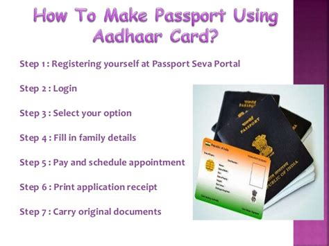 how to make aadhar card how to make passport using aadhar card howsto co