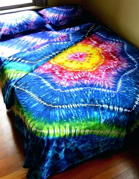 diy tie dye duvet cover tie dye bedding tie dye quilt covers dyed sheet set