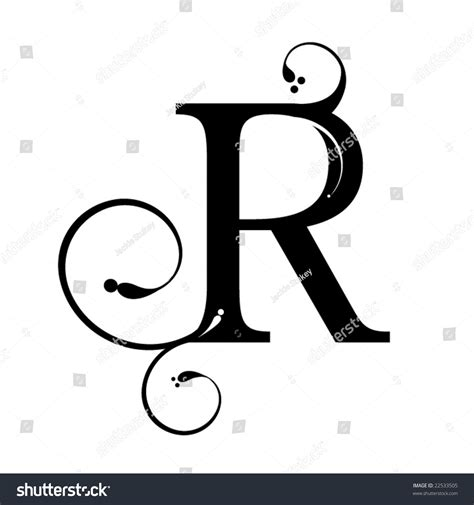 Letter R Images letter r stock vector 22533505