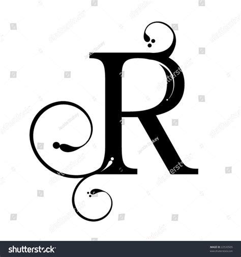 Letter R Stock Vector Illustration 22533505 : Shutterstock