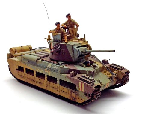 Taniya Nevada tamiya matilda april 2016 finescale modeler