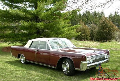 64 lincoln convertible survivor 1964 64 lincoln continental convertible v8