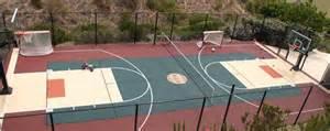 backyard basketball court dimensions backyard sport court enclosed size basketball
