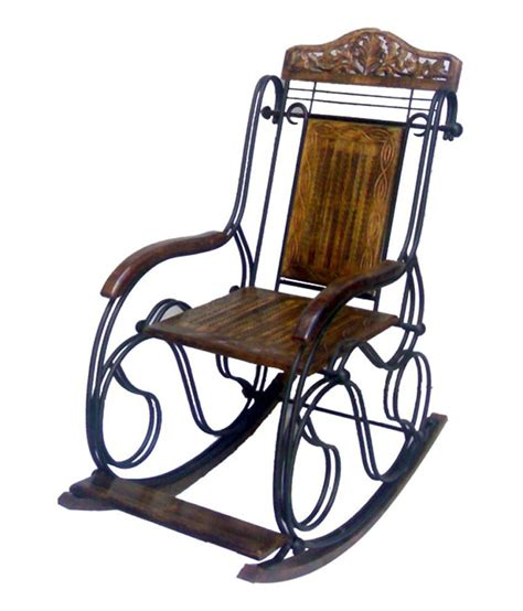 Wrought Iron Rocking Chair by Onlineshoppee Fancy Wrought Iron Decorative Rocking Chair
