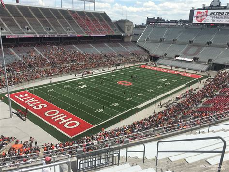 Ohio Stadium Student Section by Deck Endzone Ohio Stadium Football Seating