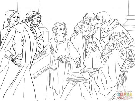 free coloring page jesus in the temple boy jesus in the temple coloring page coloring home